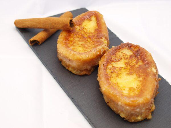 Tostadas de Pan con Miel (Torrijas)