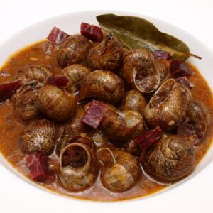 Caracoles en salsa Vizcaína